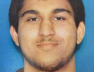Police image of Arcan Cetin, suspect in Burlington mall shooting