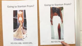 Prom dress poster
