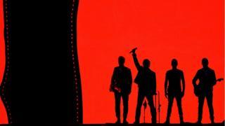 U2 performing at Croke Park
