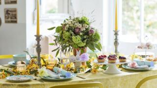 Good Housekeeping's Easter table