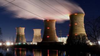 La planta nuclear de Three Mile Island