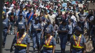Depuis plusieurs semaines, des attaques qui ont pour cibles des africains subsahariens sont signalées à Johannesburg