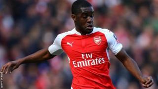 Mshambuliaji wa Arsenal Joel Campbell