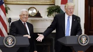 Trump və Abbas