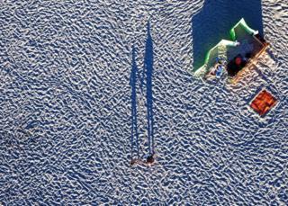 Пляж в Польше.