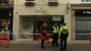 Rolex shop in Leeds