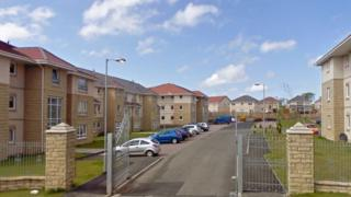 Millhall Court in Airdrie