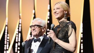 Martin Scorsese with Cate Blanchett