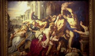 The painting Massacre of the Innocents by Peter Paul Rubens