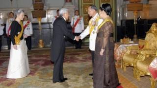 จักรพรรดิญี่ปุ่นกับกษัตริย์ไทย