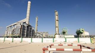 2014 file image of oil terminal at Marsa al-Hariga, Libya