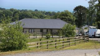 The children were attacked in their home at Blainroe, County Wicklow