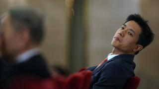 Baidu Chairman and CEO Robin Li during the second session of the 12th National People's Congress at the Great Hall of the People on March 6, 2014 in Beijing, China