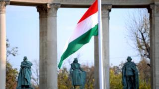 Macaristan bayrak