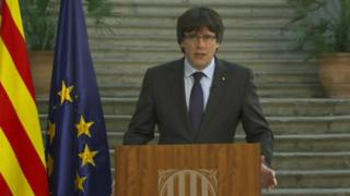 Carles Puigdemont, 28 October