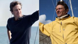 Colin Firth in The Mercy and Justin Salinger in Crowhurst