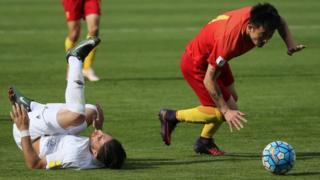 فوتبال، ایران، چین، مقدماتی جام جهانی، روسیه