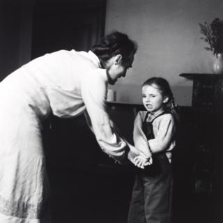 Woman and child, Camphill School, Bieldside, Aberdeen