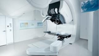 How the final proton beam therapy room will look