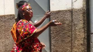 Umwigisha wa kaminuza Stella Nyanzi