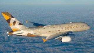 Etihad Airways plane