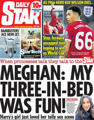 The Daily Star front page Thursday