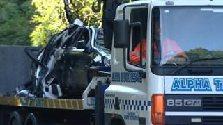 Car removed from scene of fatal crash in Gateshead