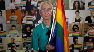 台灣同婚合法化推手祁家威
