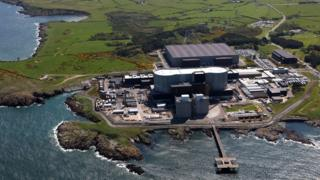 Wylfa from the air