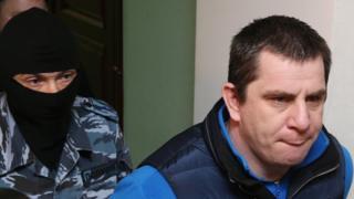 Обвиняемый по делу об убийстве Бориса Немцова Тамерлан Эксерханов
