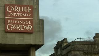 Logo Prifysgol Caerdydd