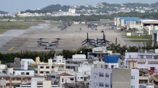 Futenma air base
