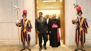Tuyên bố được đưa ra sau khi Tổng thống Venezuela thăm Vatican