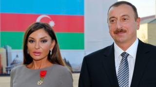 Мехрибан и Ильхам Алиевы