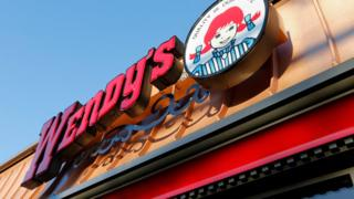 File photo of a Wendy's restaurant in the US