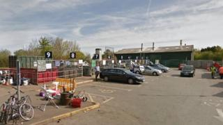 Netley recycling centre