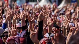 Референдум мамлакатни иккига бўлиб ташлагани айтилади