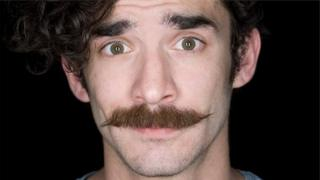 A moustache grown for Movember