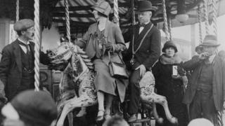Hoppings fair in 1925