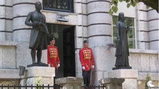 Місто Цетинє, резиденція президента Чорногорії