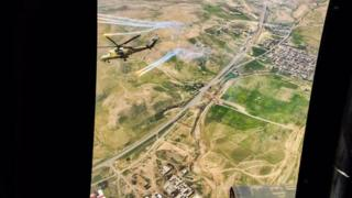 Aerial view of Mosul