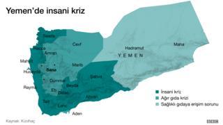 Yemen'de insani kriz