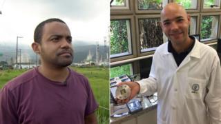 Cleiton Jordão e Mauro Braga