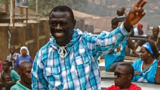 Ugandan opposition candidate Kizza Besigye