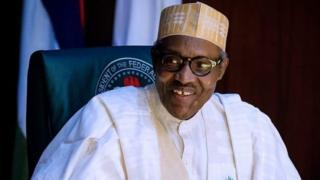Shugaba Buhari ya ce gwamnatinsa na kokarin samar da ababen more rayuwa ga al'umma.