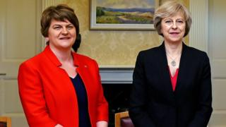 Arlene Foster met Theresa May in Downing Street on Tuesday