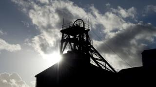 Coal mining tower
