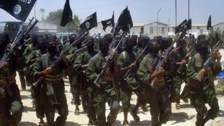 Eş Şebab militanları