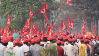 शेतकरी लाँग मार्च