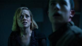 Don't Breathe stars Jane Levy and Dylan Minnette